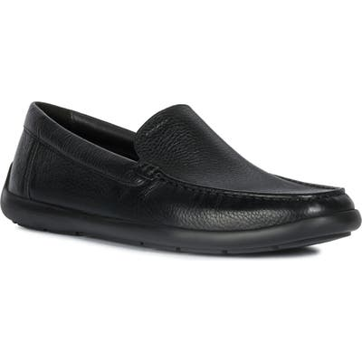 Geox Devan Water Resistant Driving Shoe, Black