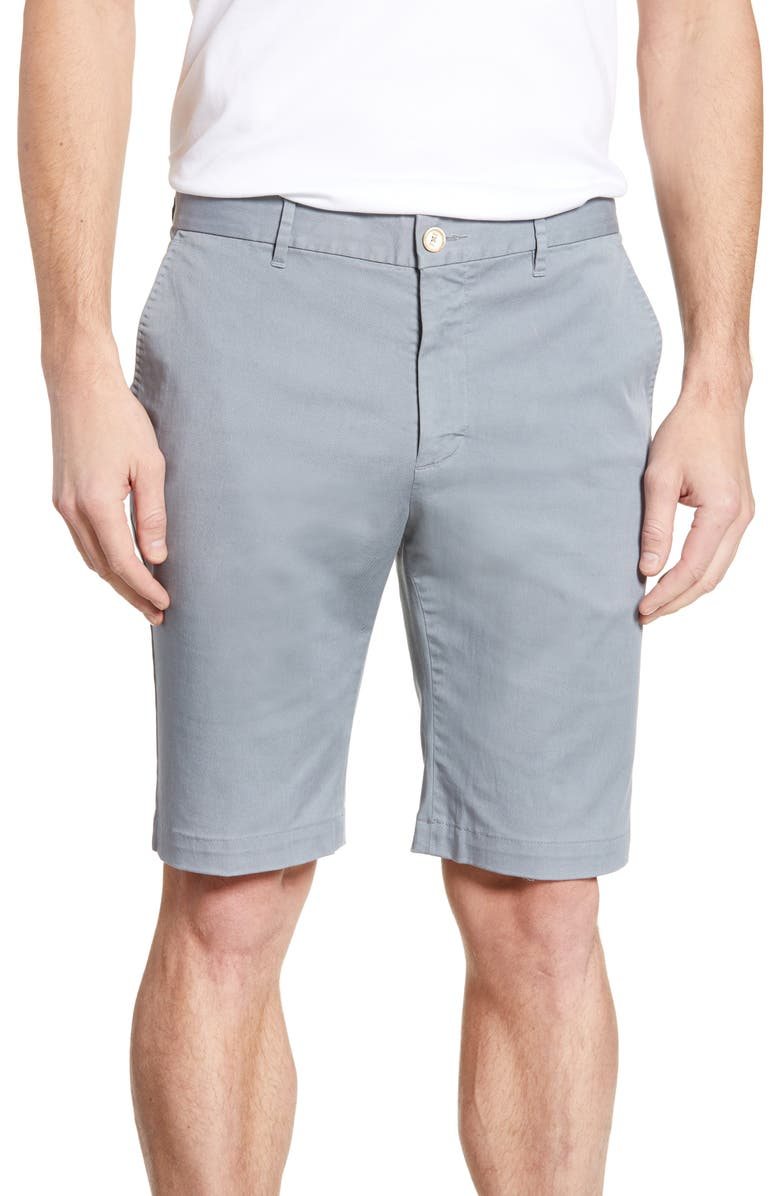 ROBERT GRAHAM Aldrich Chino Shorts, Main, color, 032