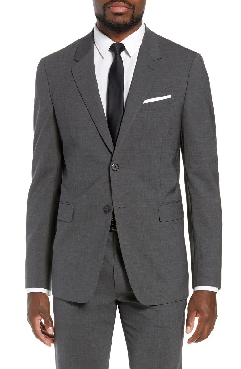 THEORY New Tailor Chambers Suit Jacket, Main, color, MEDIUM CHARCOAL