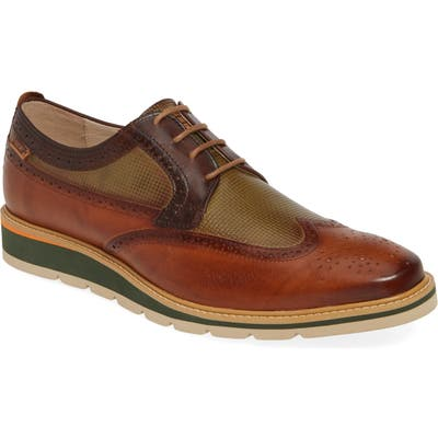 Pikolinos Toulouse Wingtip Derby - Brown