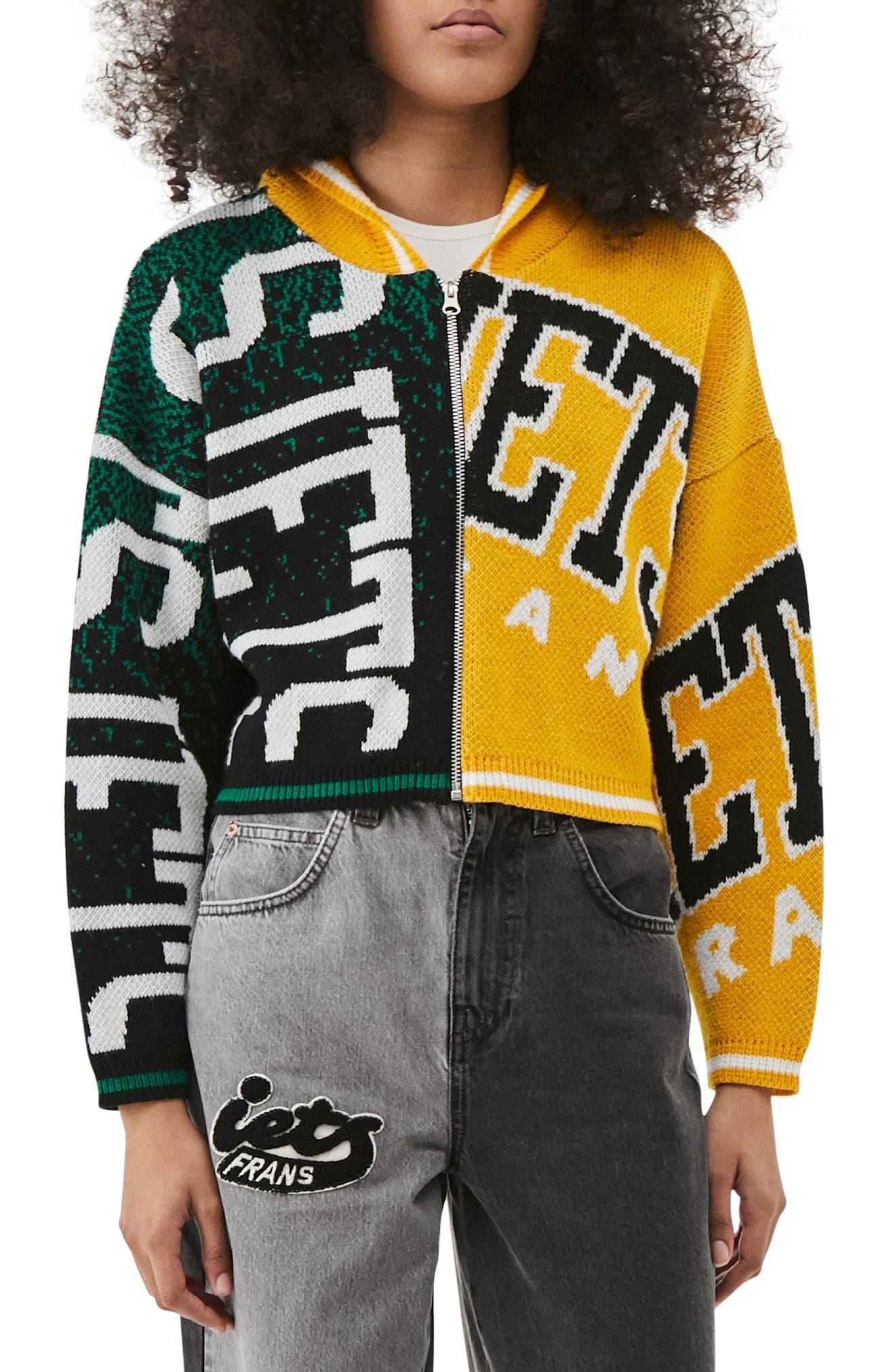 Hooded Varsity Sweater