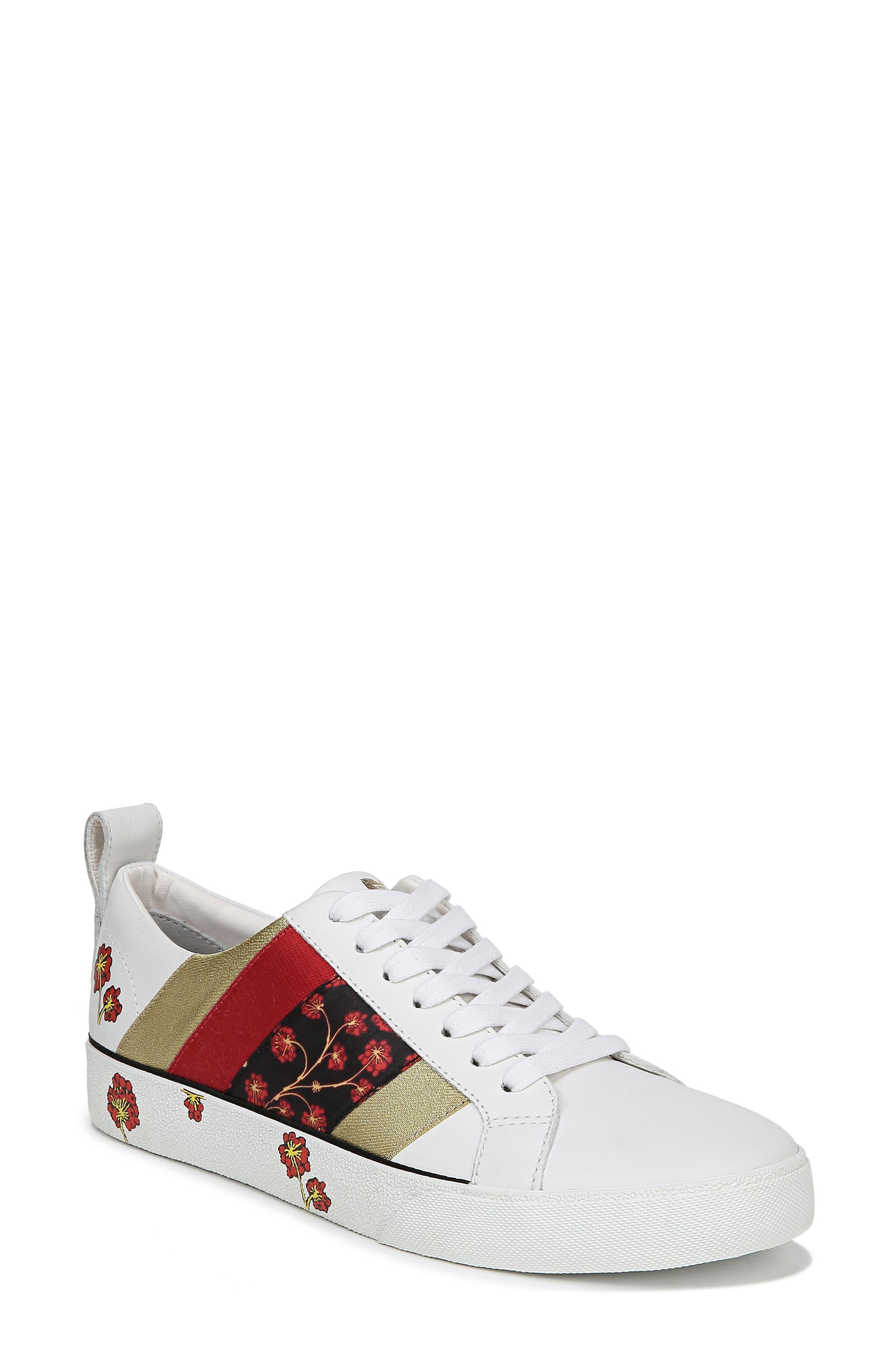 Diane Von Furstenberg Tess Lace-Up Sneaker, White