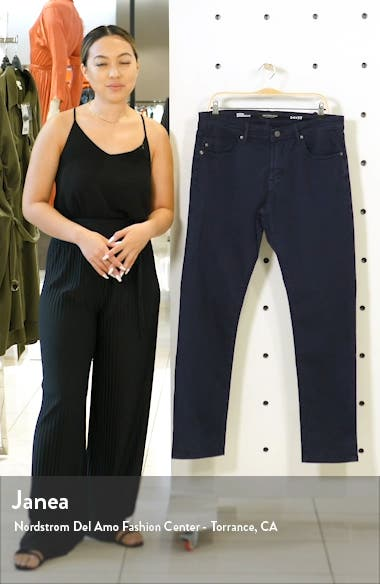 Kingston Slim Straight Leg Twill Pants, sales video thumbnail