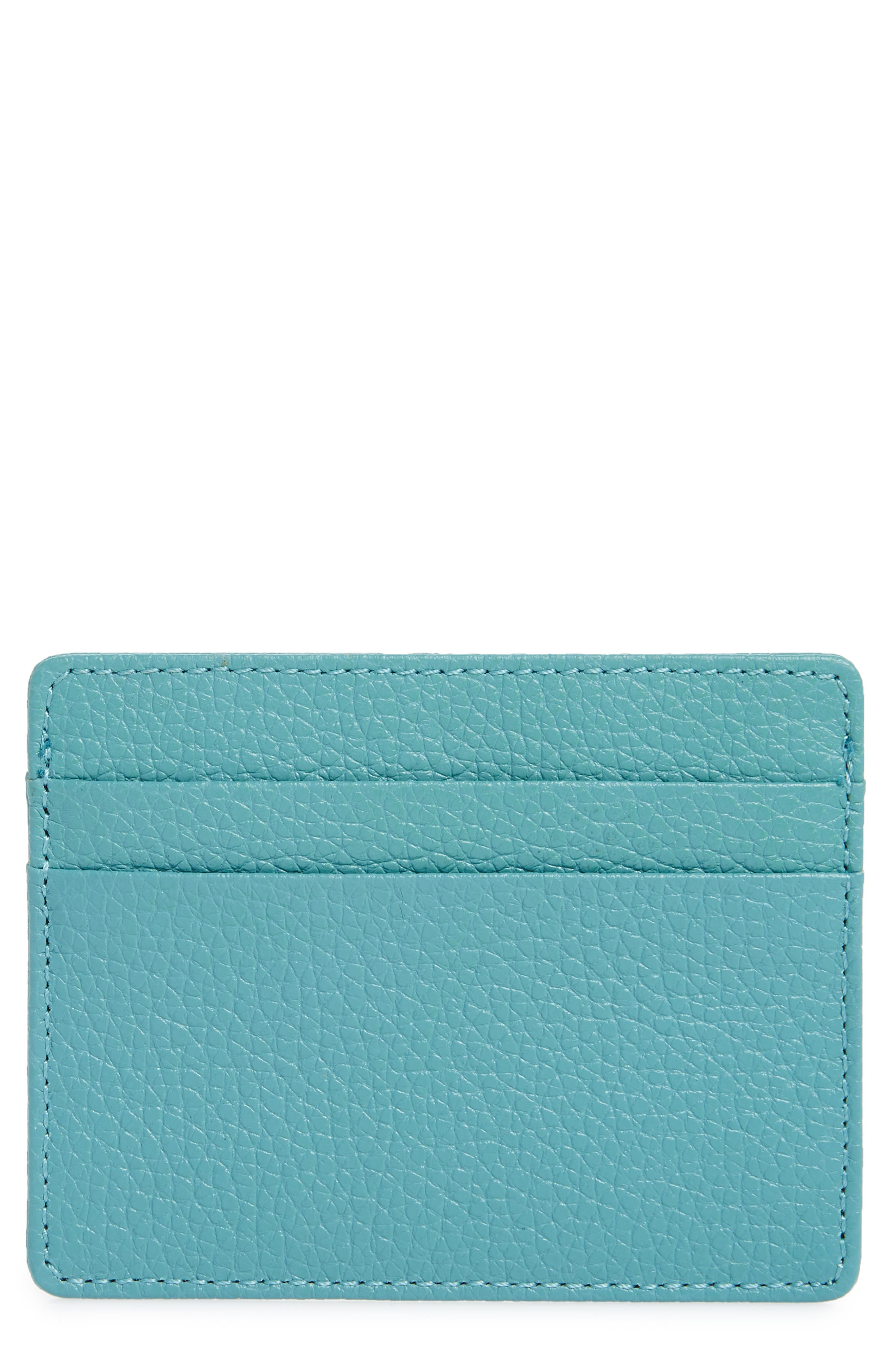 ,                             Jamie Leather Card Case,                             Main thumbnail 41, color,                             440