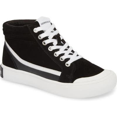 Calvin Klein Jeans High Top Sneaker, Black