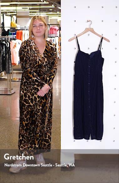 Metallic Stripe Dress, sales video thumbnail