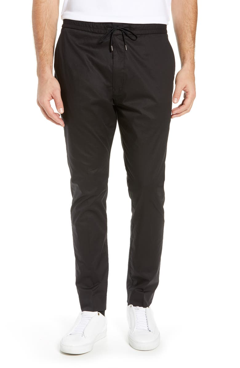 HUGO Zander Slim Fit Twill Pants