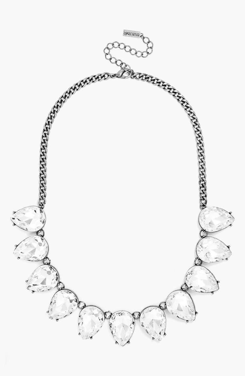 BAUBLEBAR Crystal Collar Necklace, Main, color, 040