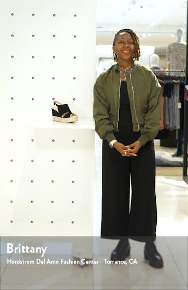 Elenor Espadrille Wedge Sandal, sales video thumbnail