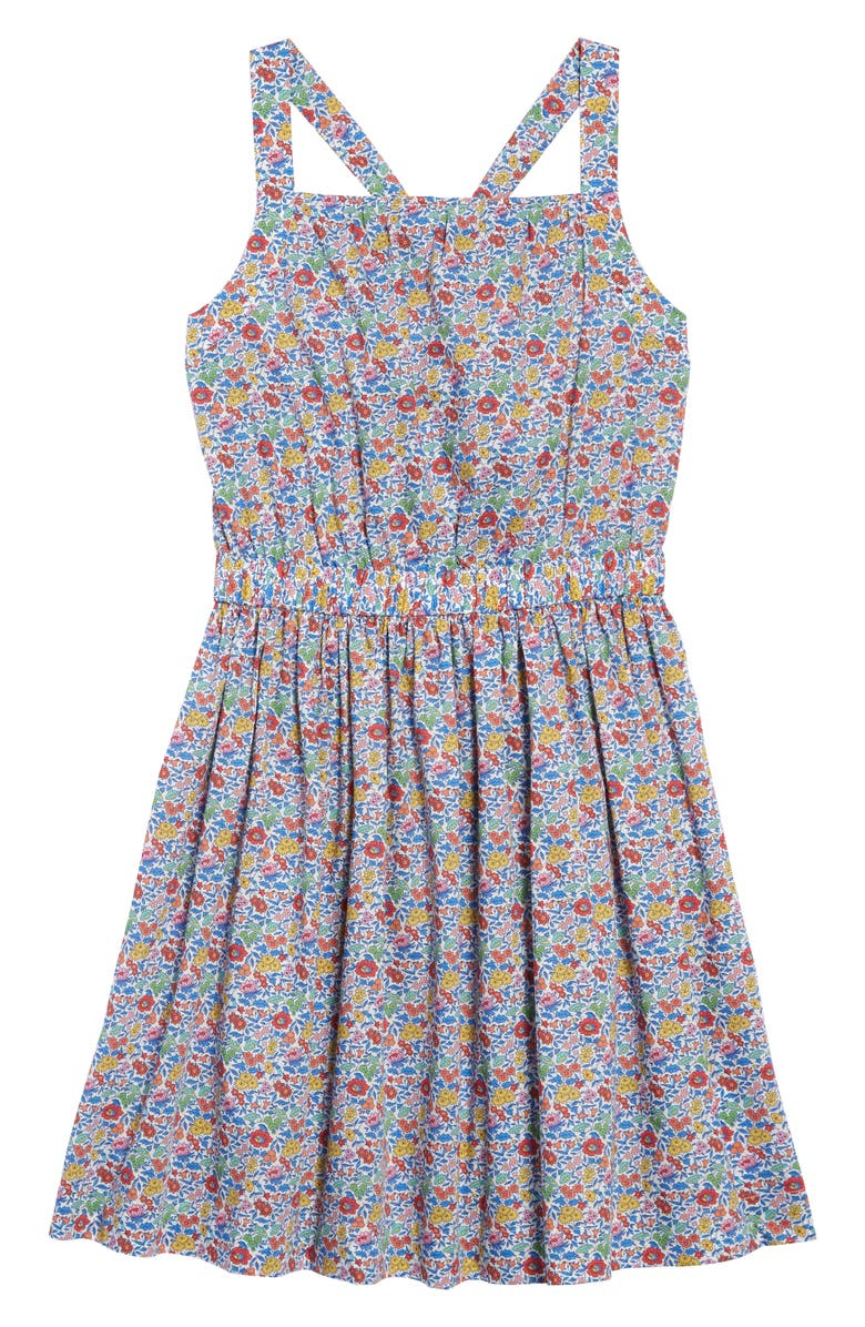 CREWCUTS BY J.CREW Bow Back Dress, Main, color, 400