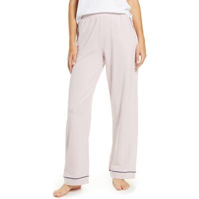 Madewell Knit Bedtime Pajama Pants, Purple