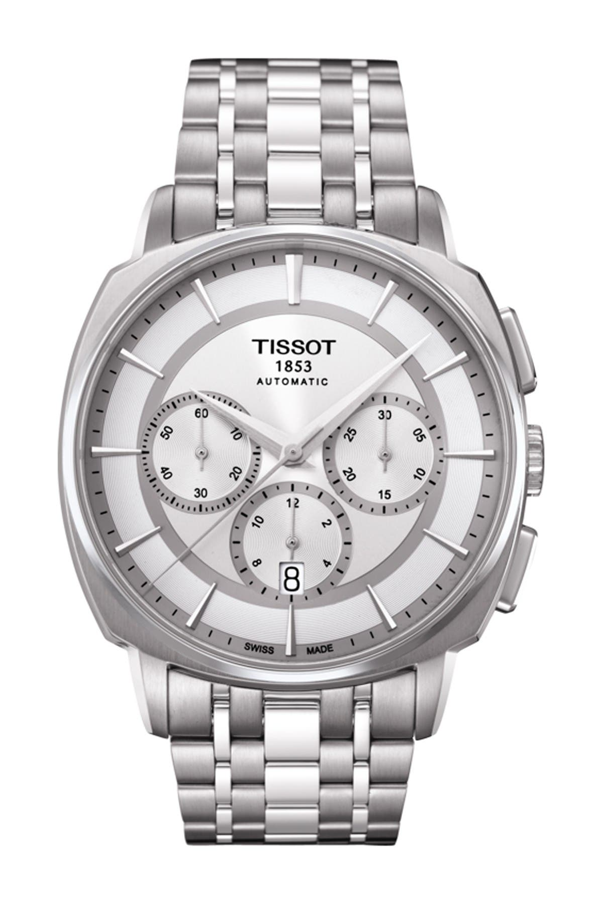 Image of Tissot Men's T-Lord Automatic Chronograph Valjoux Watch, 42.2mm