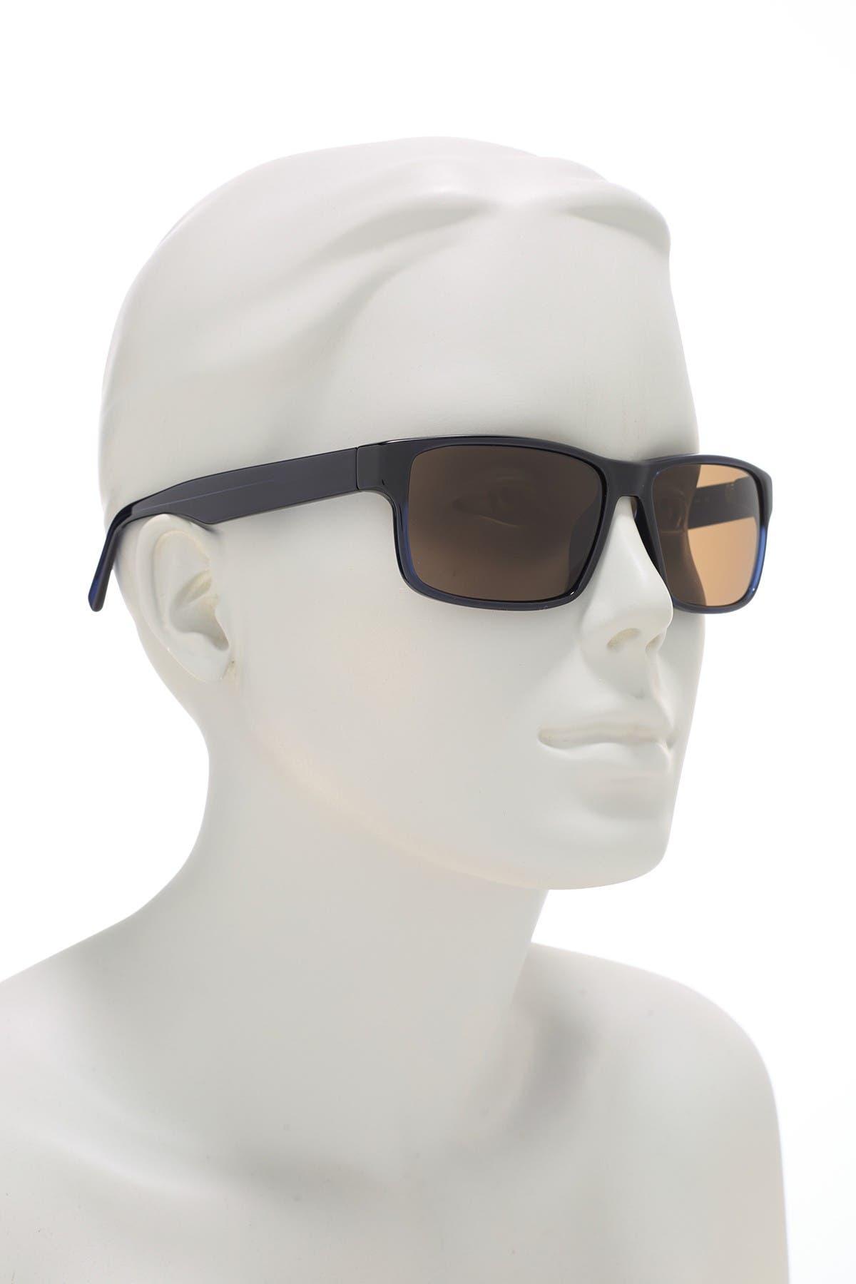 Image of Salvatore Ferragamo 58mm Rectangle Sunglasses