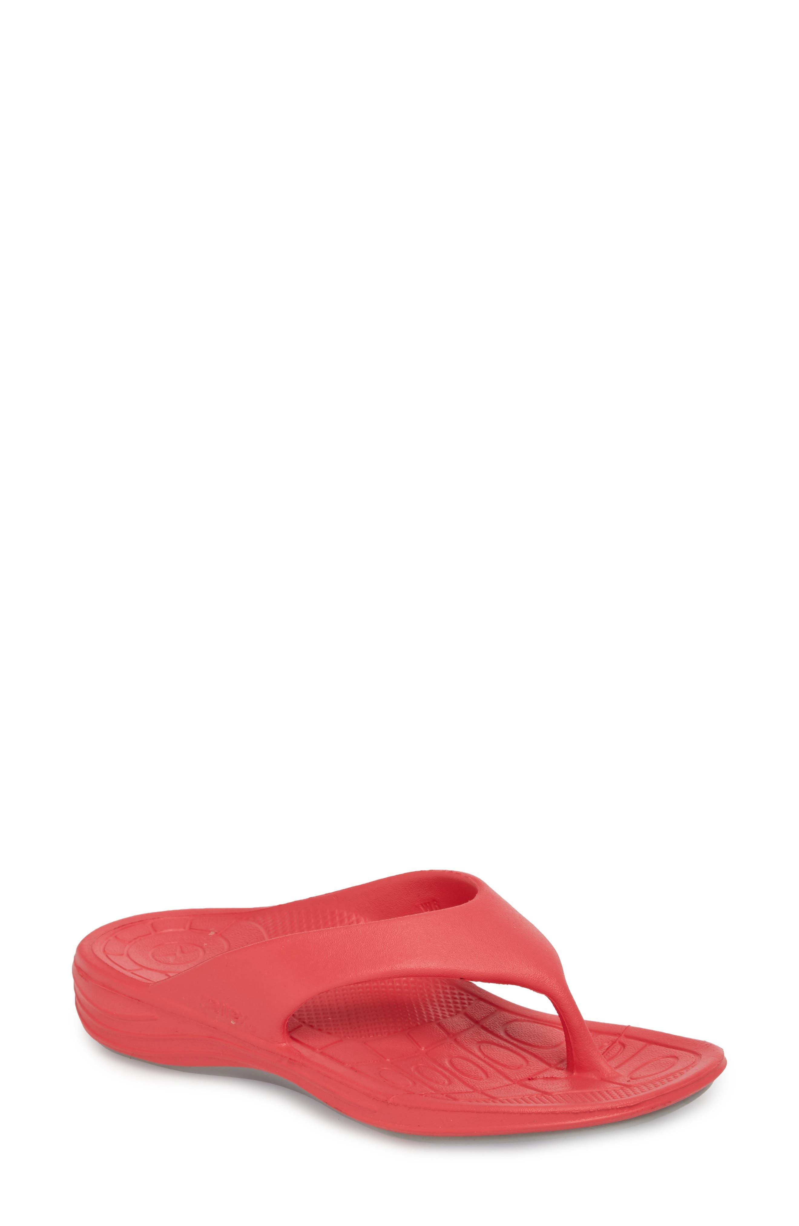 Aetrex Lynco Flip Flop, Pink