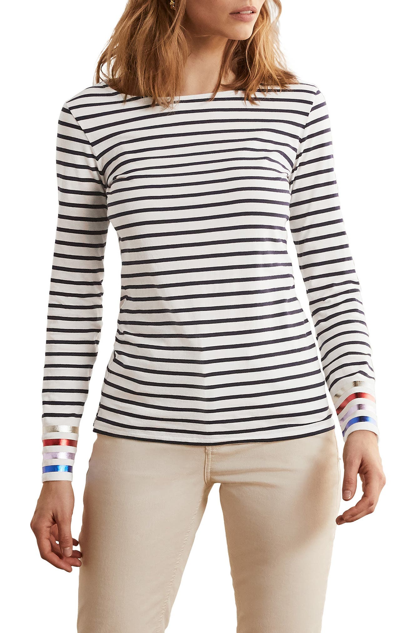 Breton Long Sleeve Shirt