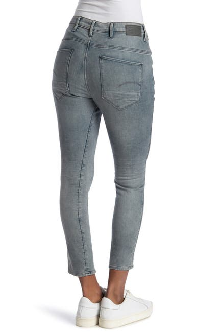 Image of G-STAR RAW Dadin 3D Low Pocket Ankle Crop Boyfriend Jeans