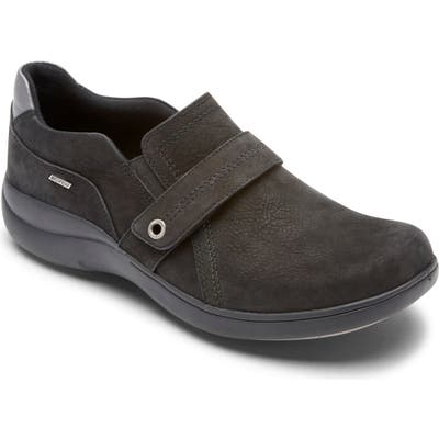 Aravon Waterproof Flat, Black