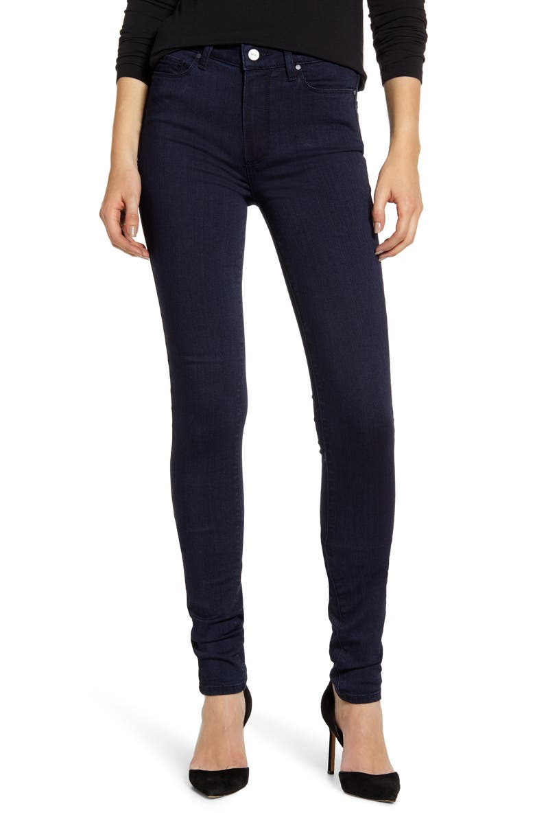 Transcend   Leggy High Waist Skinny Jeans by Paige