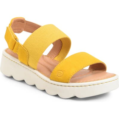 B?rn Patriotic Slingback Sandal, Yellow
