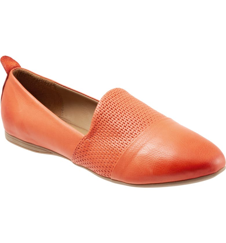 BUENO Katy Flat, Main, color, SUNSET LEATHER