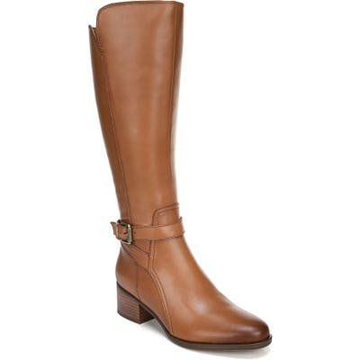 Naturalizer Demetria Tall Boot Regular Calf- Brown