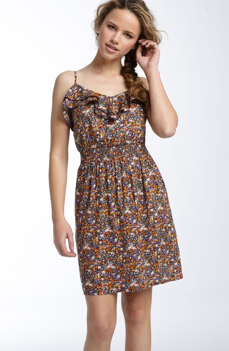MIMI CHICA Ruffle Dress, Main, color, 241
