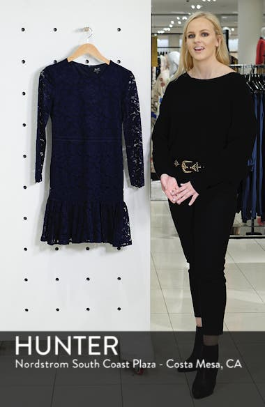 Rubi Long Sleeve Lace Dress, sales video thumbnail