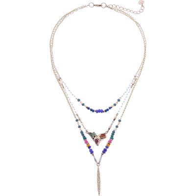 Nakamol Design Beaded Layered Necklace