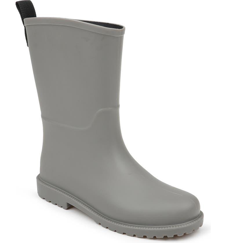 SPLENDID Priscilla Rain Boot, Main, color, CHARCOAL