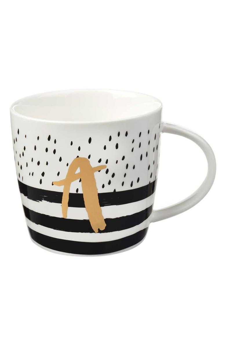 SLANT COLLECTIONS Monogram Mug, Main, color, 100