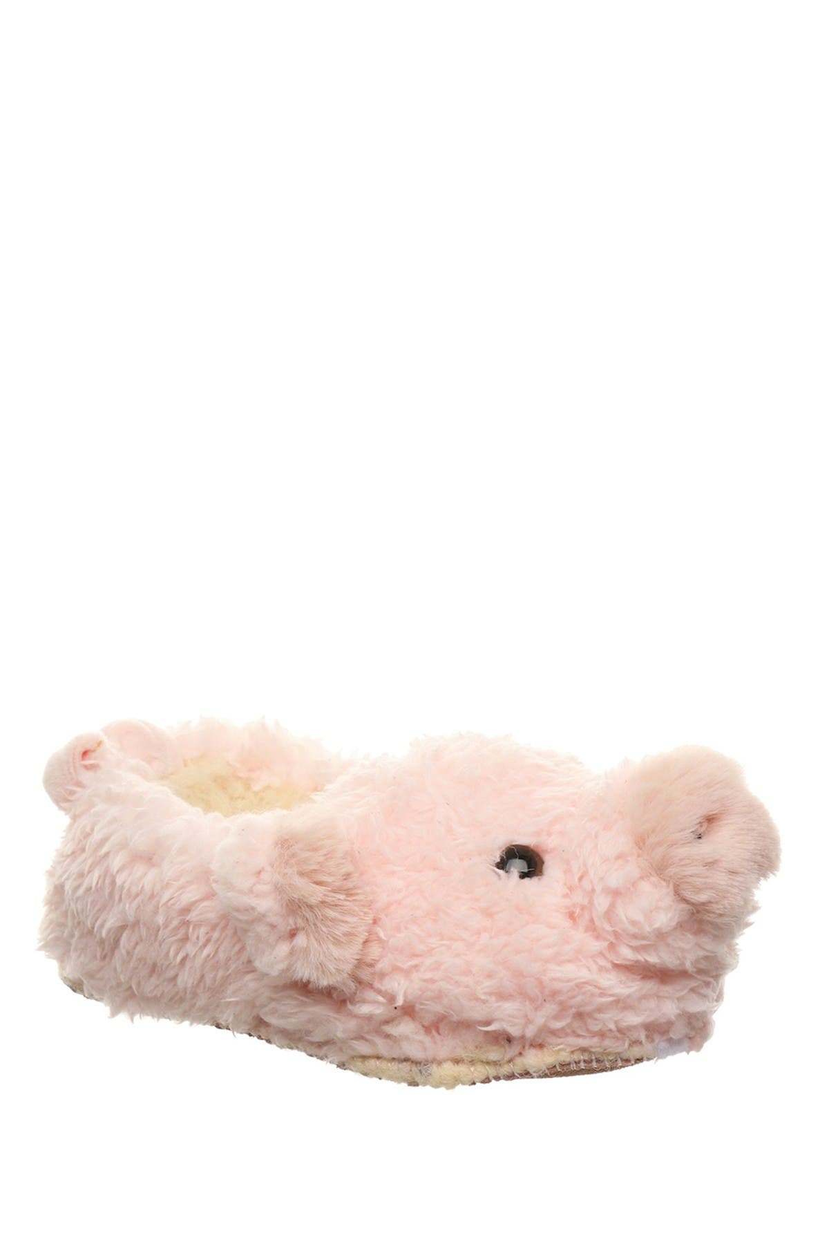 Image of BEARPAW Lil Critters Faux Fur Animal Slippers