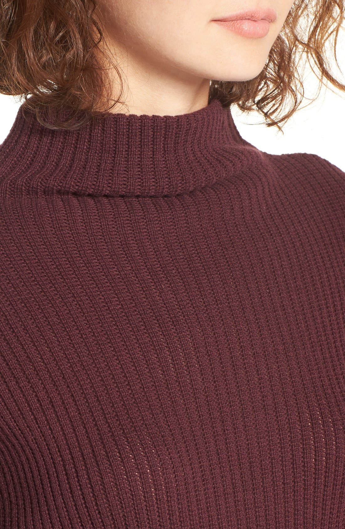 ,                             Mock Neck Sweater,                             Alternate thumbnail 39, color,                             930