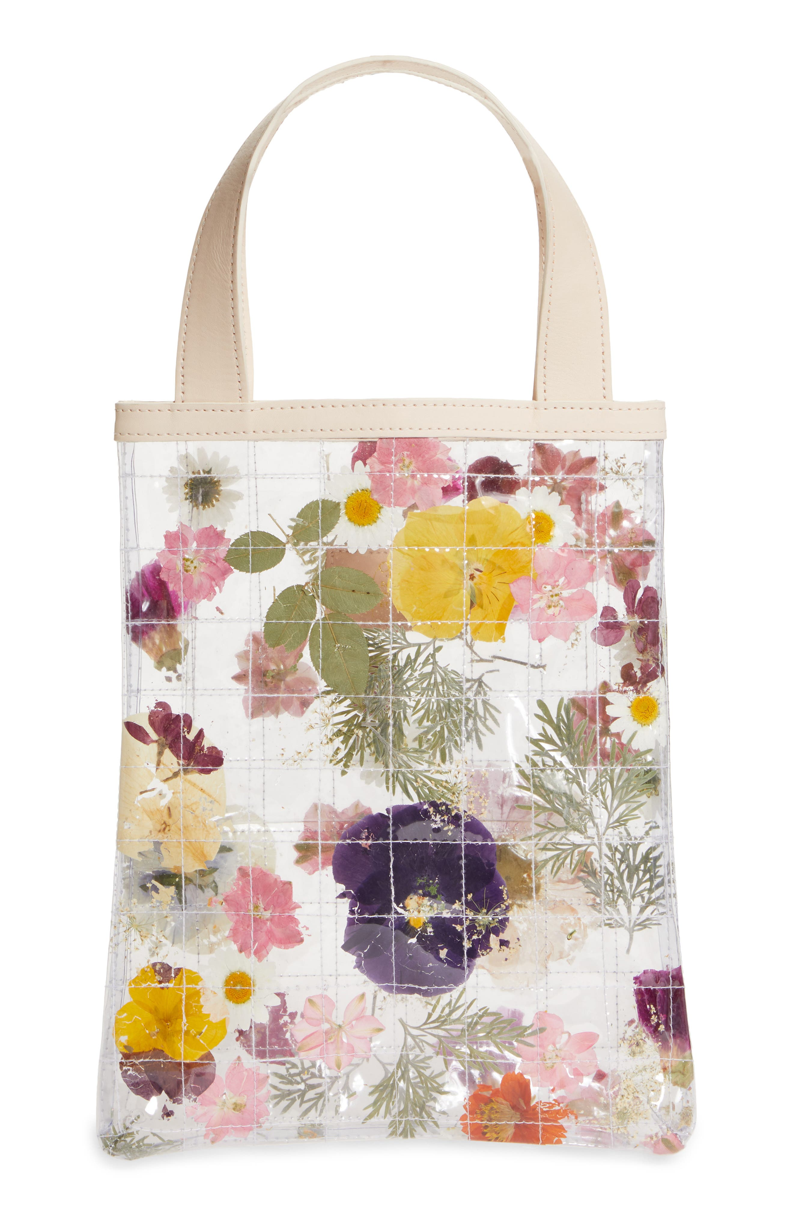 Crushed Garden Quilted Tote