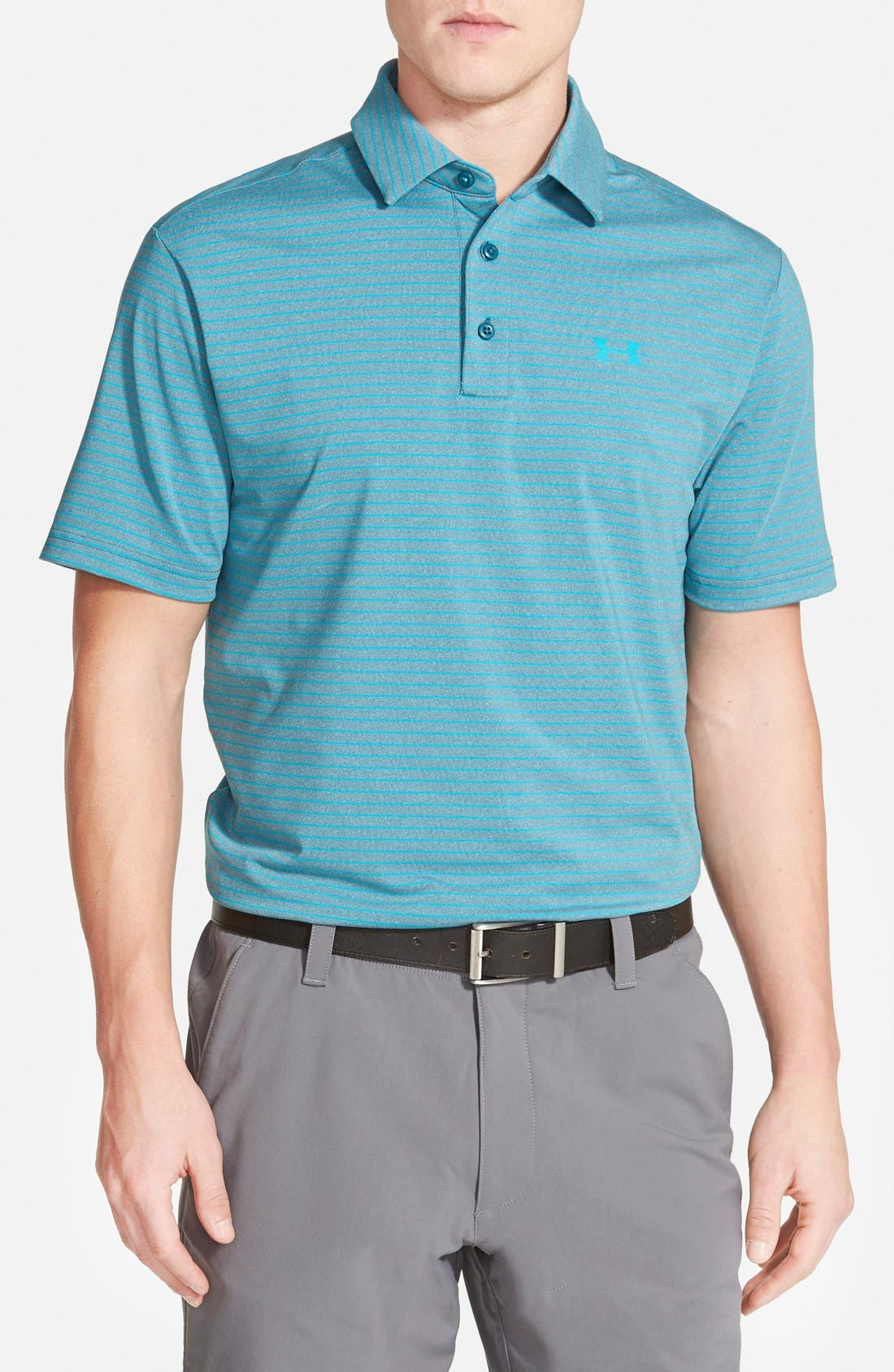 ,                             'Playoff' Loose Fit Short Sleeve Polo,                             Main thumbnail 193, color,                             401