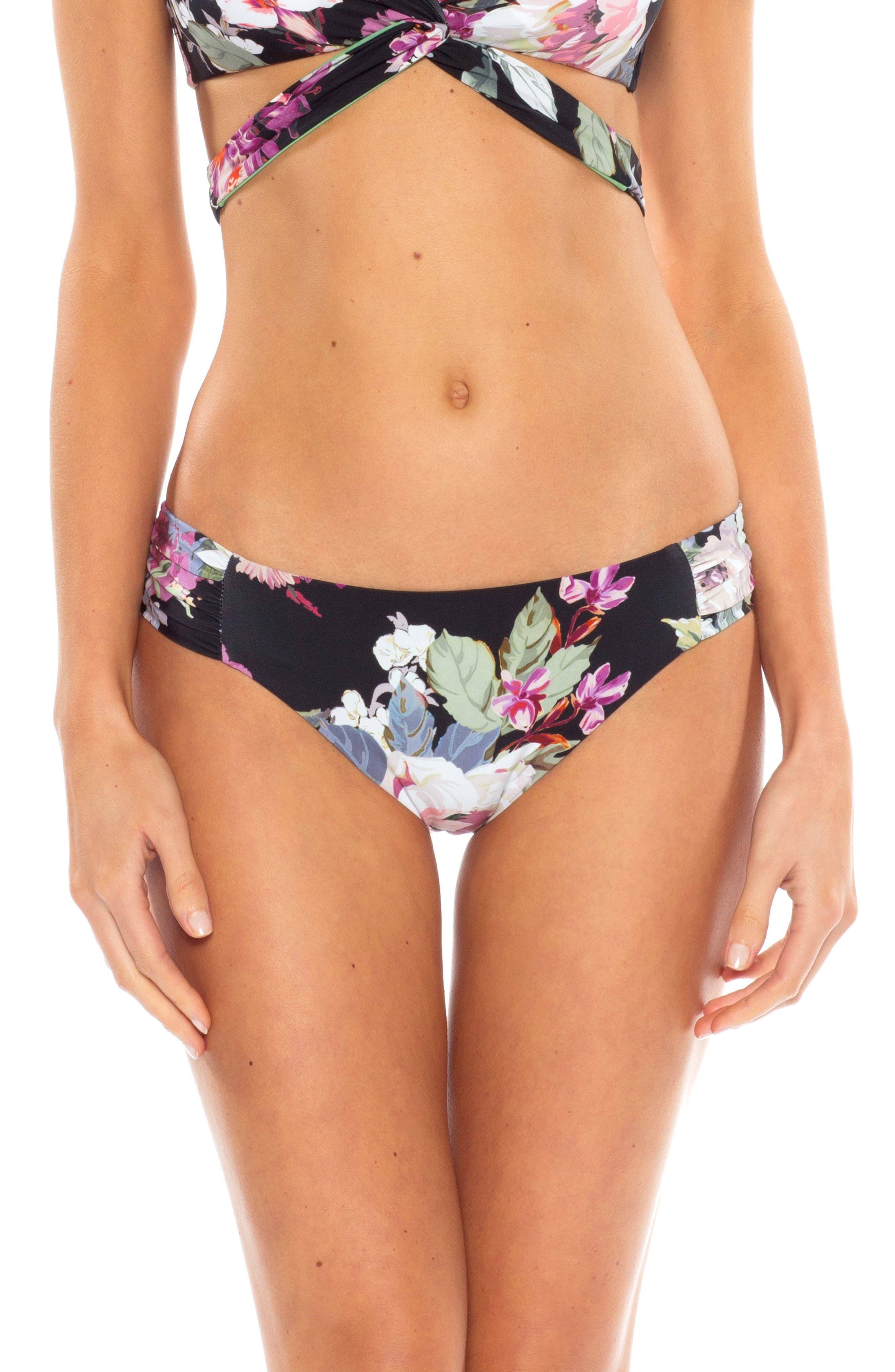 Becca Spring Fling Bikini Bottoms, Black