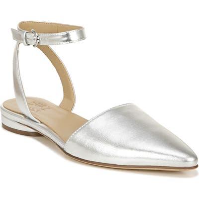 Naturalizer Hartley Ankle Strap Sandal, Grey