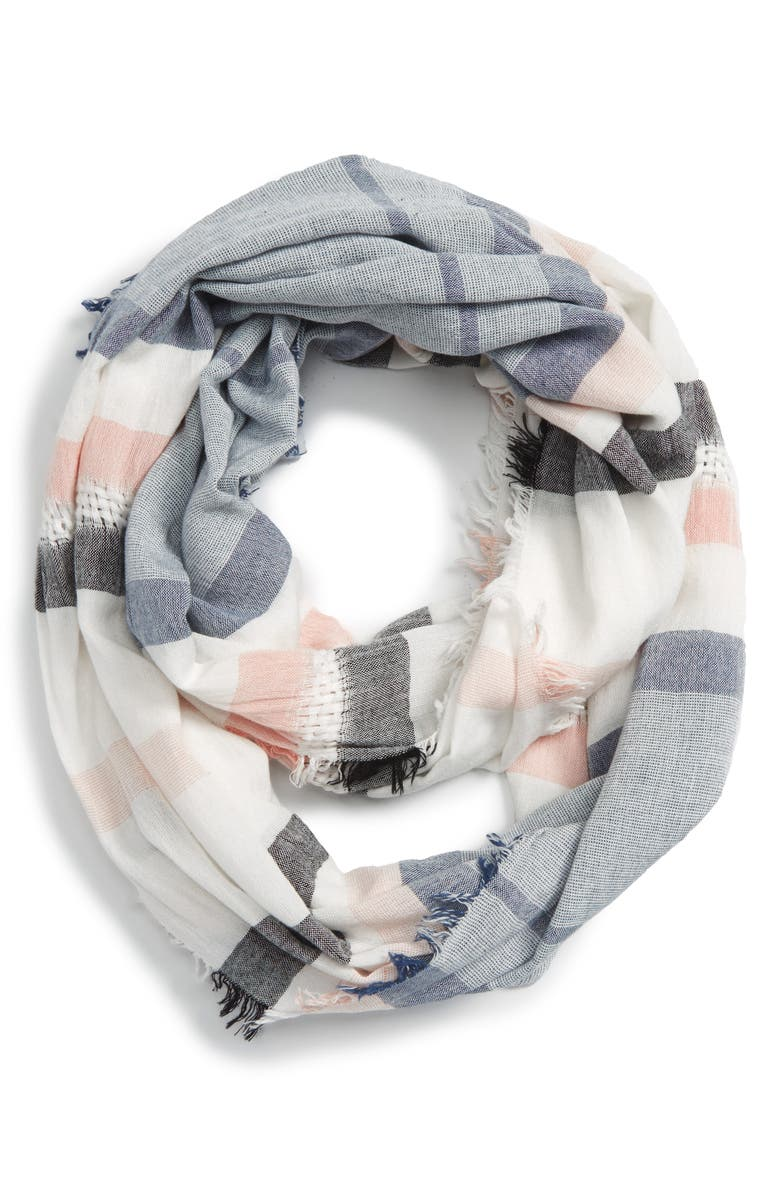 BP. Stripe Infinity Scarf, Main, color, 100