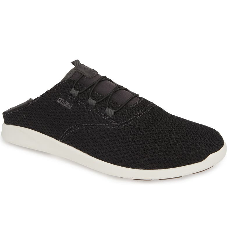 OLUKAI Alapa Li Sneaker, Main, color, BLACK/ DARK SHADOW MESH