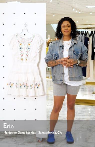 Romy Ruffle Tiered Minidress, sales video thumbnail