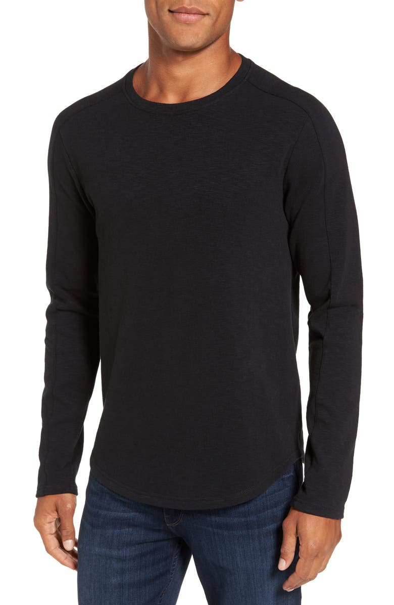 W.R.K Douglas Slub Long Sleeve T-Shirt, Main, color, 001