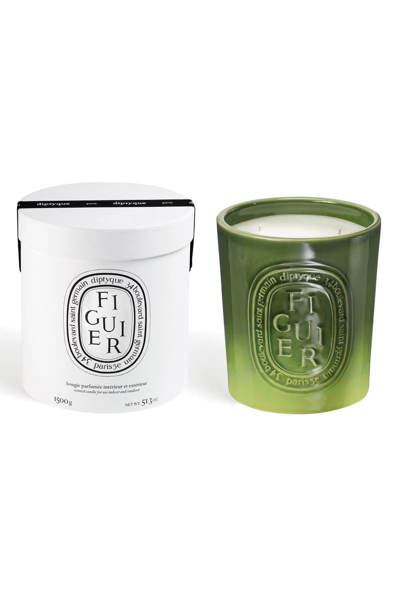 DIPTYQUE Figuier/Fig Tree Large Scented Candle, Main, color, NO COLOR