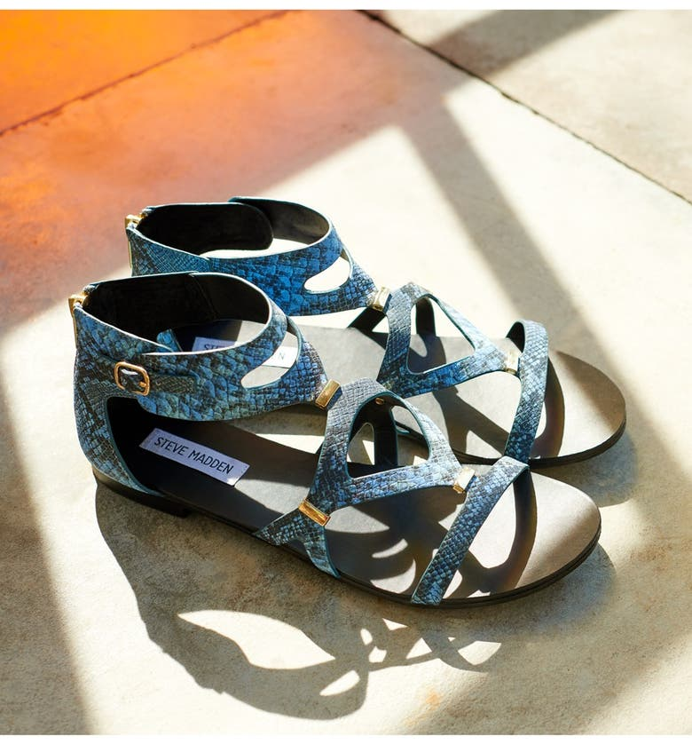 STEVE MADDEN 'Comly' Gladiator Sandal, Main, color, 100