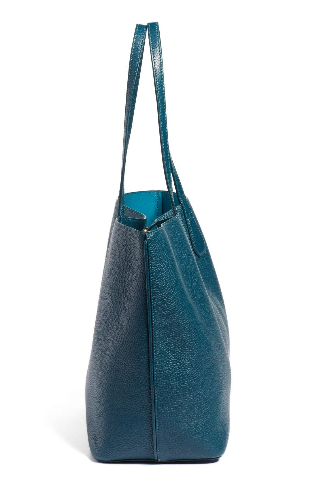 ,                             'Perry' Leather Tote,                             Alternate thumbnail 10, color,                             407