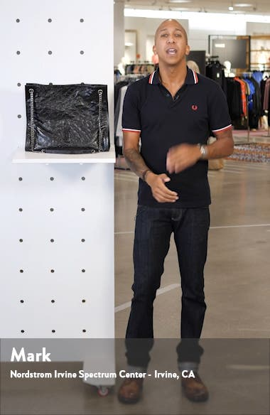 Large Niki Calfskin Leather Shopper, sales video thumbnail