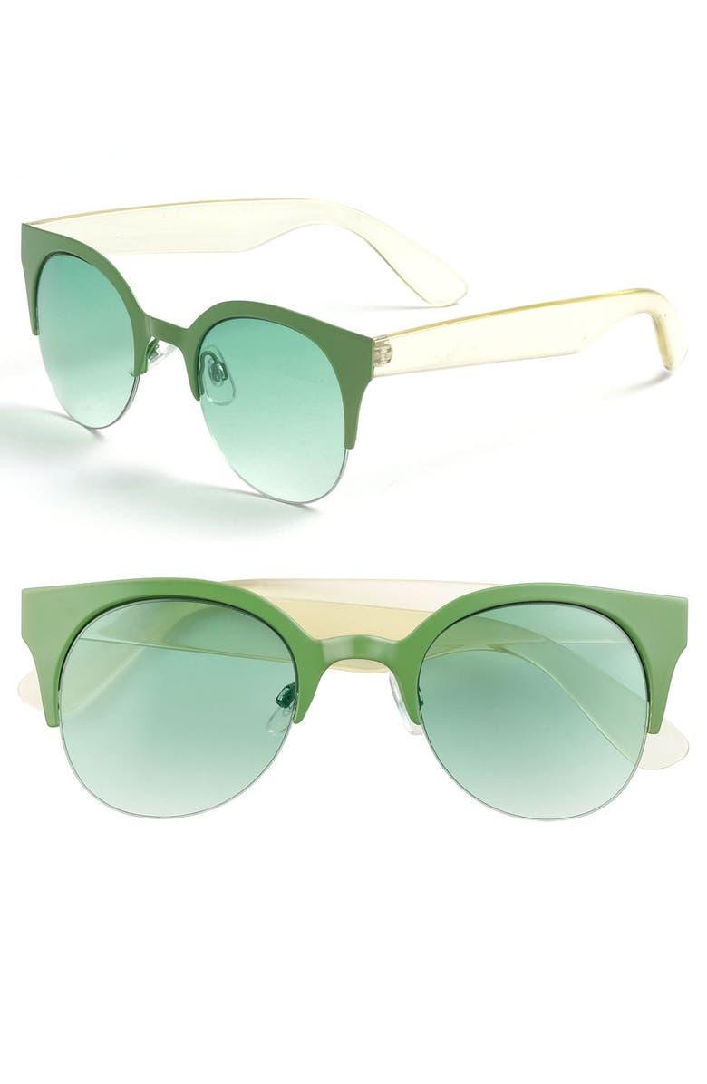 FE NY 'Cool Cat' Sunglasses, Main, color, 300