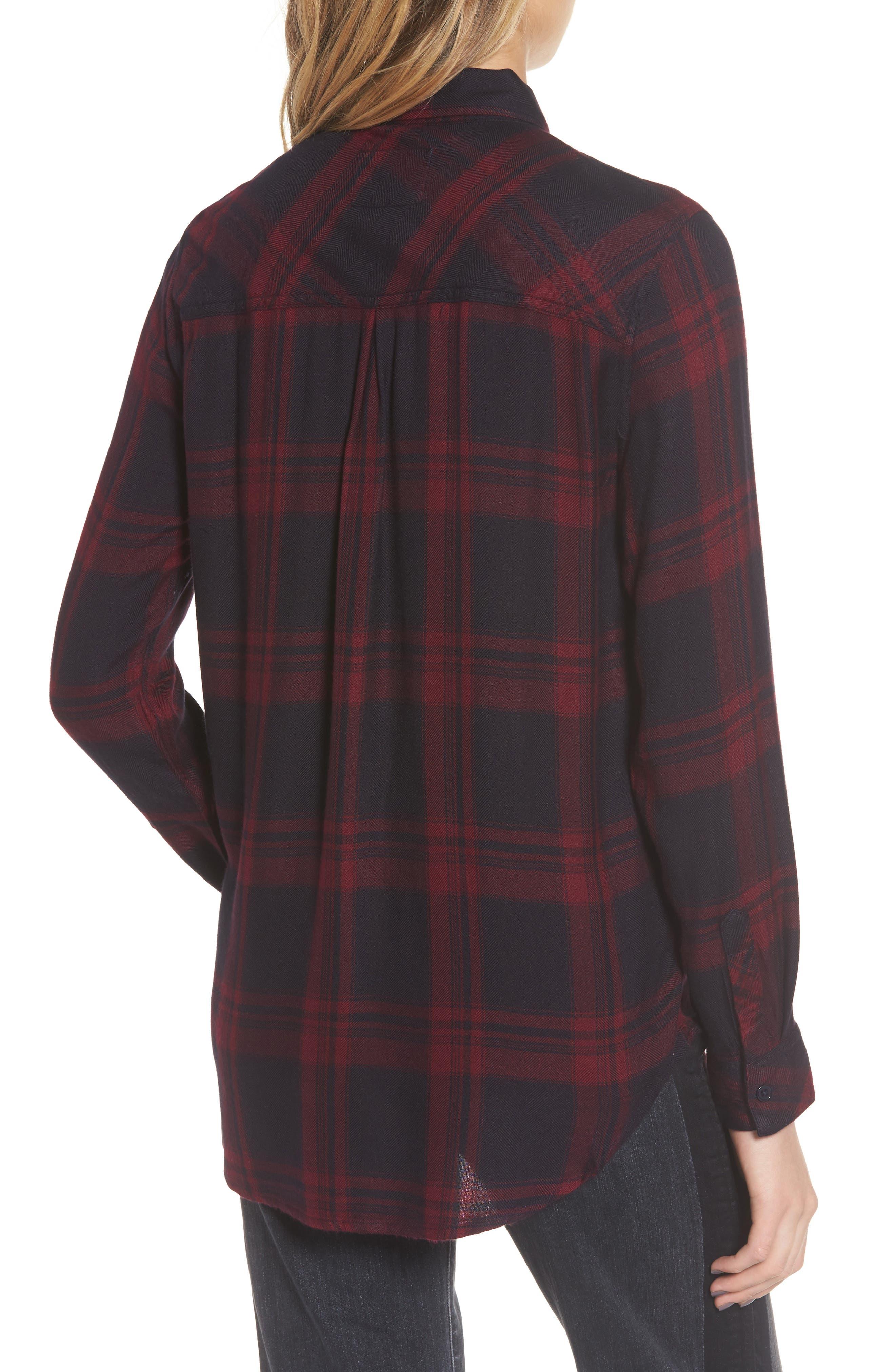 ,                             Hunter Plaid Shirt,                             Alternate thumbnail 502, color,                             007