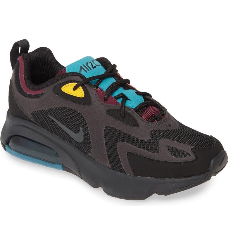 NIKE Air Max 200 Sneaker, Main, color, 001