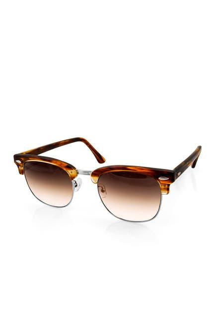 Image of AQS Milo 49mm Clubmaster Sunglasses