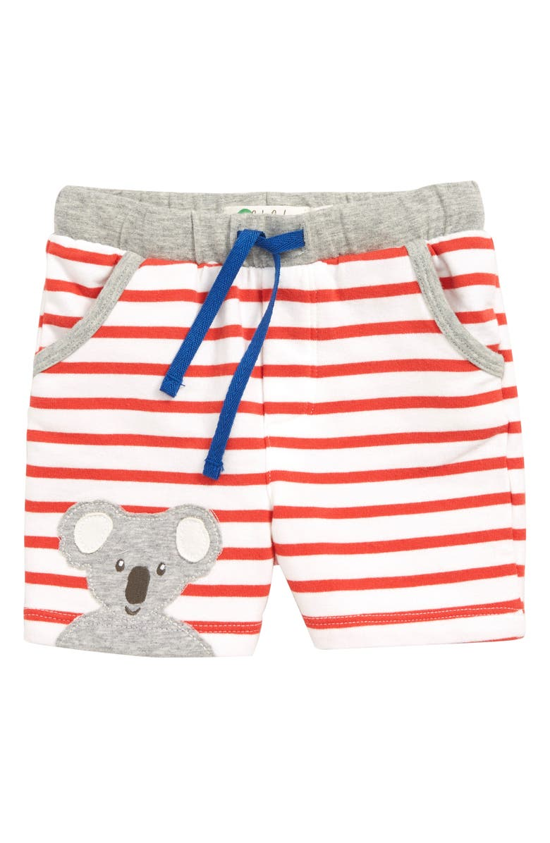 8be9e78cb Fun Jersey Shorts, Main, color, RED WHITE/ BEAM RED KOALA