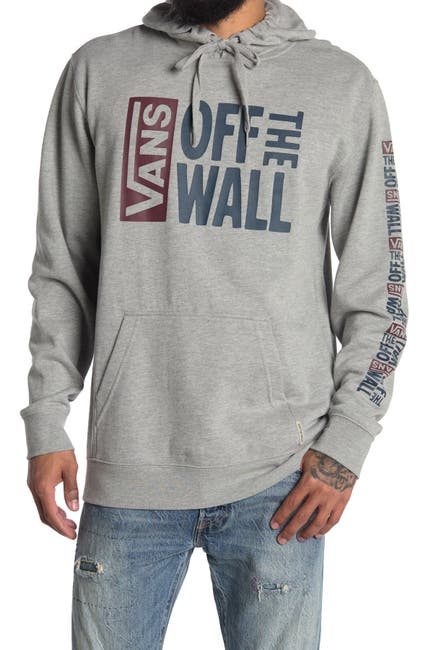 Image of VANS Stamped Off the Wall Logo Drawstring Hoodie